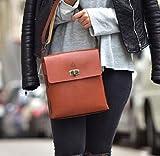 Brown Leather Handmade Messenger Bag