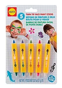 ALEX Toys Artist Studio Twin Tip Face Paint Sticks