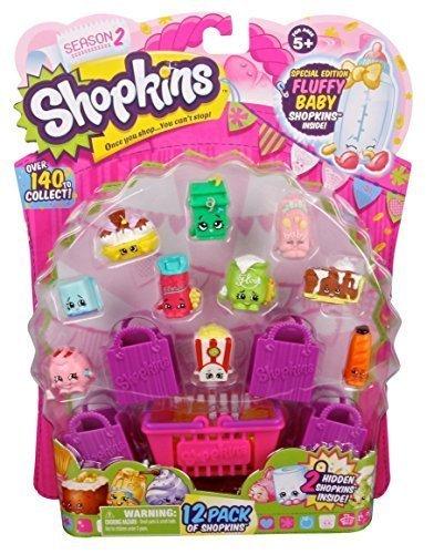 Shopkins Season 2 Bundle - 12 Pack + 5 Pack, Model: , Toys & Play (Shopkins Big Basket compare prices)