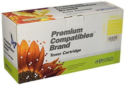 Premium Compatibles Inc. Q6002ARPC Replacement Ink and Toner Cartridge for HP Printers, Yellow