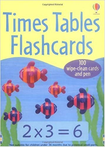 Times Tables Flashcards: Amazon co uk: NA: 9780746087893: Books