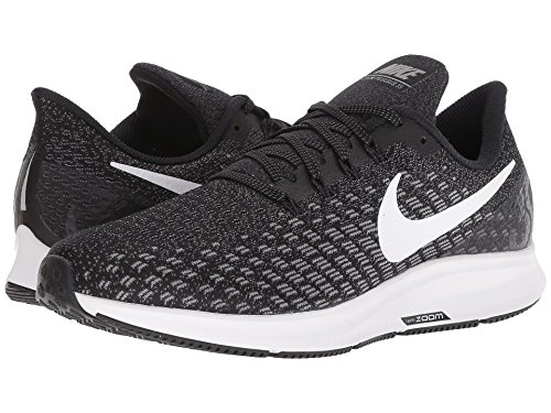 [NIKE(ナイキ)] メンズランニングシューズ?スニーカー?靴 Air Zoom Pegasus 35 Black/White/Gunsmoke/Oil Grey 11.5 (29.5cm) B - Narrow
