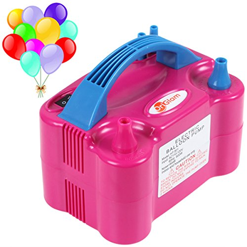 Black Friday Sale! OriGlam Portable Dual Nozzle Electric Balloon Blower Pump Electric Balloon Inflator 110V 600W For - Sale For Black Friday