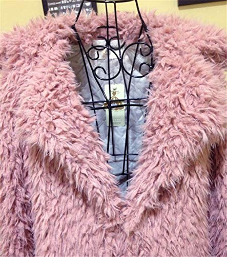 Giacche Capispalla Giacca Peluche Cappotti Rosa Corto Elegante Modo In Di Stile Inverno Donna zRwAEn