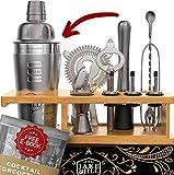 Best Bartender Kits - JJ Beginner Bartender Kit Engraved - 12-Piece Cocktail Review