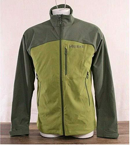 Marmot Men's Soft Shell Regular Fit Full Zip Bero Jacket (Cilantro/Crocodile, - Jackets Marmot Soft Shell