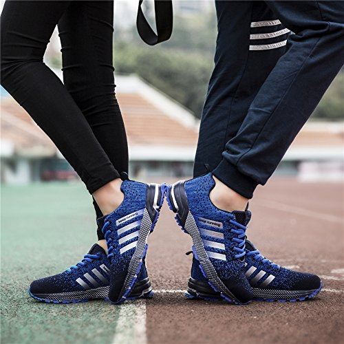 De Course Gymnase Femmes Sport Fitness Hommes Chaussures Athltique Air Baskets Marche Cushion Sollomensi Orange q7twXfw