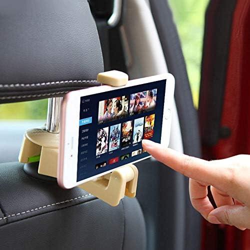 Rui Peng 携帯電話スタンド - 車の後部座席電話ホルダースタンド用iphone 4〜6インチ携帯電話ブラケット自動ヘッドレストフック財布バッグホルダーオーガナイザー (色 : ベージュ)