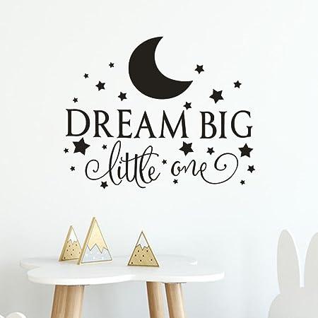 Ubabamama Dream Big Little One Removable Wallpaper Art Vinyl Mural