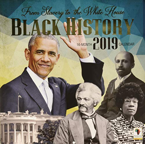 2020 Heritage Card - Black Cards WC165 from Slavery to The White House 2018 Wall Calendar Brown