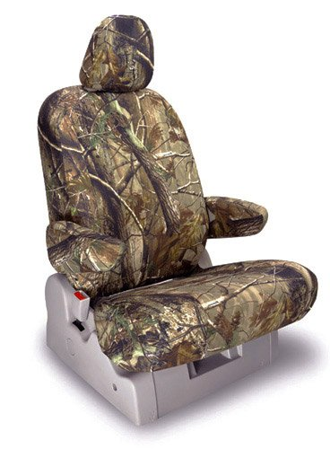 Shear Comfort Custom Nissan X Trail Seat Covers - FRONT SEAT SET: Low Back Buckets w/ Adjustable Headrests (2005-2007) - Realtree Camo AP