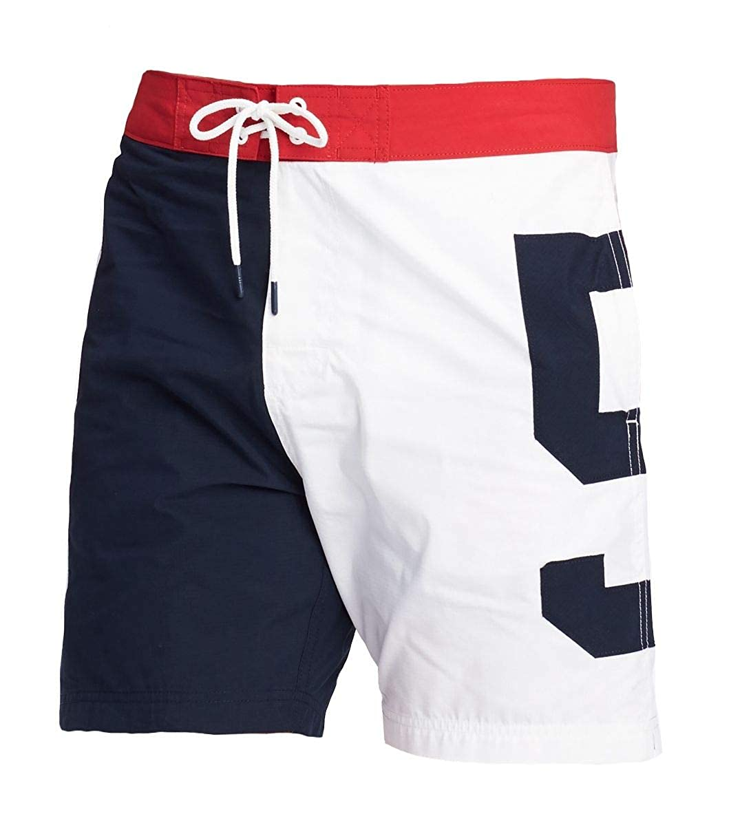 f810ab17408a8 Tommy Hilfiger Men's Pier 85 Board Shorts/Swim Trunks | Amazon.com