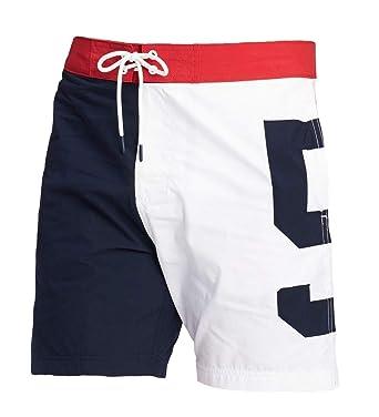 a1f80084 Tommy Hilfiger Men's Pier 85 Board Shorts/Swim Trunks   Amazon.com
