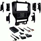 Metra 99-5840CH Single/Double DIN Dash Kit for Select 2015-Up Ford Mustang Vehicles