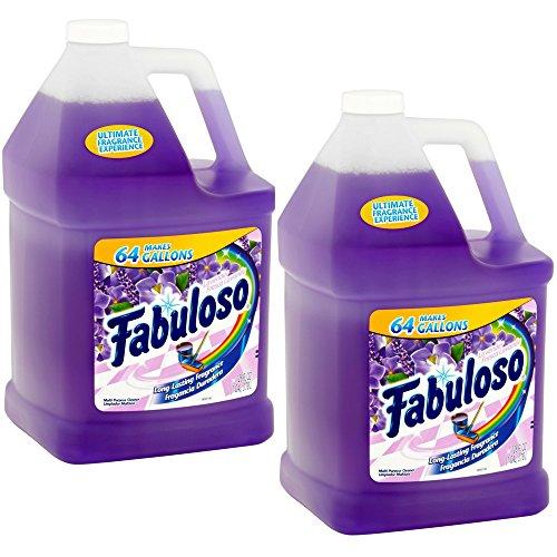 Fabuloso Lavender Multi-Purpose Cleaner, 128 fl oz (Pack of 2)