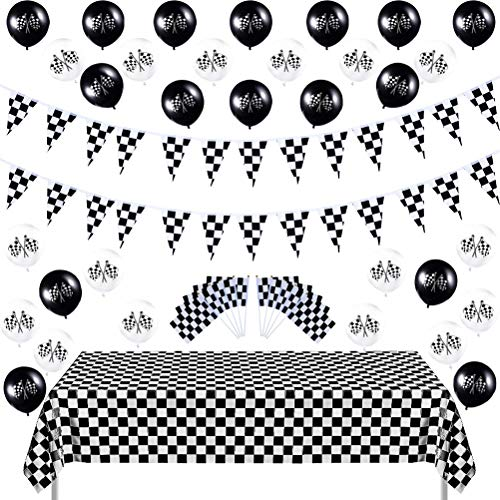 Theme Race Party Decorations - MeiMeiDa 30 PCS 8