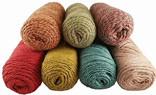 (SuriSilk Alpaca Silk Wool Blend Fingering Weight Yarn by Natural Fiber Producers (Red Blue Natural))
