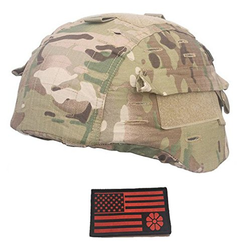 MICH 2000 Ver2/ACH Tactical Multicam Helmet Cover (MC) - Kevlar Helmet Cover