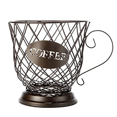 Coffee Cup Coffee Pod Storage Basket