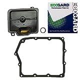 ECOGARD XT10333 Professional Automatic Transmission Filter Kit for 2008-2015 Dodge Grand Caravan, 2009-2015 Journey, 2008-2014 Avenger | 2008-2015 Chrysler Town & Country, 2007-2010 Sebring
