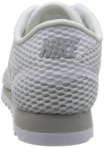 Nike Damen W Cortez Ultra BR Turnschuhe Blanco (White / Pure Platinum-Wolf Grey)