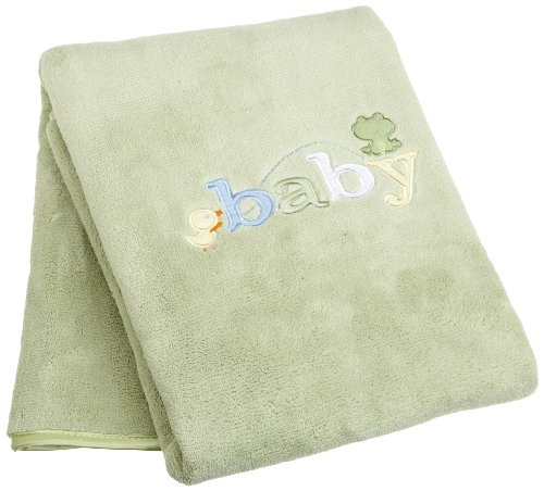 Carters Sweet Baby Blanket, Sage (Discontinued by - Line Blanket Baby