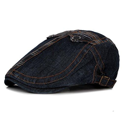 beanie pato MASTER adelante Halloween sombreros EXTERIOR lengua Moda hat hat Black Beret de azul denim cap claro hombre Navidad hat w01z0tqA