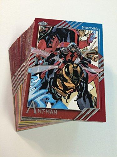 2015 Fleer Marvel Retro 60-Card Base Set