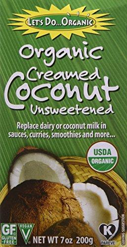 - Lets Do Organics Coconut Creamed, 7 oz