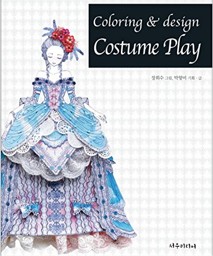 Costume Play Design Coloring Book For Adults Fun