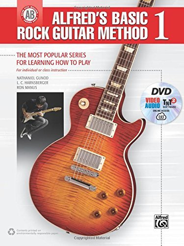 Beginning Rock Guitar Video (Alfred's Basic Rock Guitar Method, Bk 1: The Most Popular Series for Learning How to Play, Book, DVD & Online Audio, Video & Software (Alfred's Basic Guitar Library) by Nathaniel)