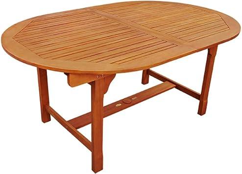 indoba Design Table de Jardin Extensible en Bois d ...