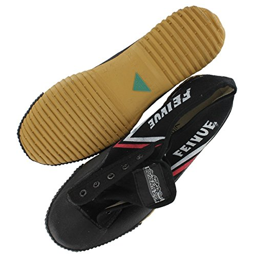 TMAS Feiyue Martial Arts Shoes, Black, 45