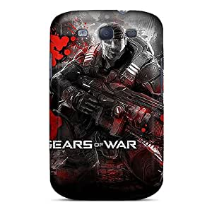 Durable Hard Cell-phone Cases For Samsung Galaxy S3 With Customized HD Gears Of War Series TimeaJoyce