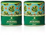 Aduna Organic Moringa Superleaf Powder 100g (Pack of 2)