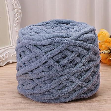 Ovillo de lana de algodón suave para tejer a mano, 100 g/1 ovillo, algodón, 22, 100g/1ball: Amazon.es: Hogar