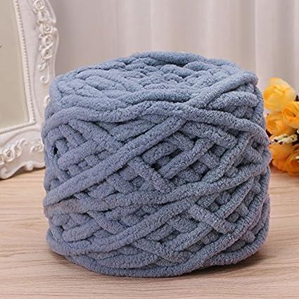Amazoncom 100g1ball Soft Cotton Hand Knitting Yarn Chunky Woven