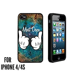 Most Dope Hands Nebula Custom made Case/Cover/skin FOR Apple iphone 5c - Black - Case ( Ship From CA) Designed by HnW Accessories