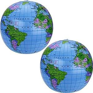 Amazon.com: pangda 16 inch inflable globo de la pelota ...
