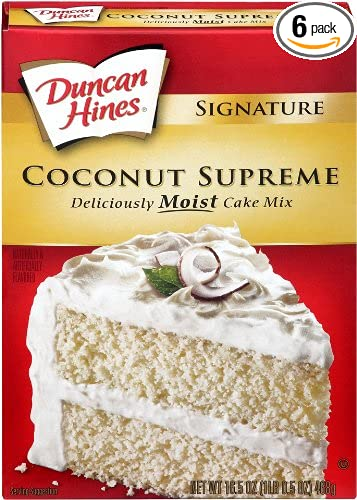 Image Unavailable Not Available For Color Duncan Hines Signature Coconut Cake Mix
