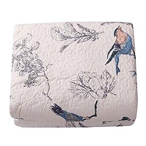 Best Comforter Sets, Flying Birds Printing 3 Piece Cotton Bedspread/Quilt Sets