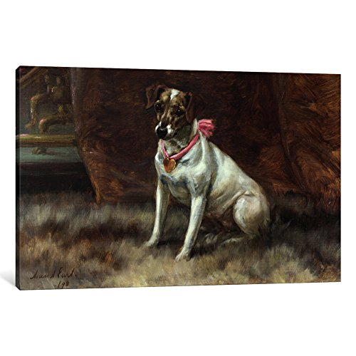 iCanvasART 1 Piece The Pink Bow, 1898 Canvas Print by Maud Earl, 1.5 by 26 by (Maud Bows)