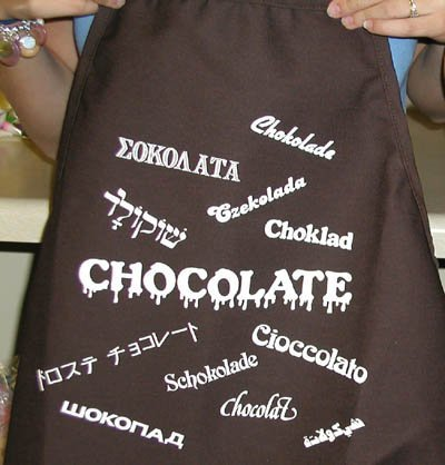 - CK Products Brown Expression Cooking Apron, International Chocolate
