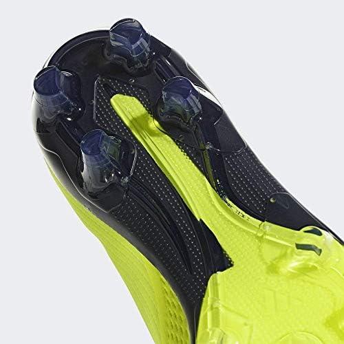 ハードグラウンド用 サッカースパイク 27.5cm X エックス 18.2-ジャパン HG/AG 国内正規品 BB6952 ソーラーイエロー
