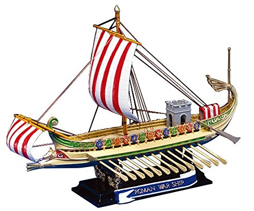 Aoshima Roman Warship 50 BC - Historical Sailing (Historical Model Ship)