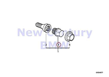 Amazon com: BMW Genuine Wheel Lock Lug Adaptor With Code