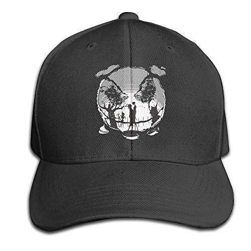 Jack Skellington Top Hat (Jack Skellington Kiss Baseball Snapback Cap Black)