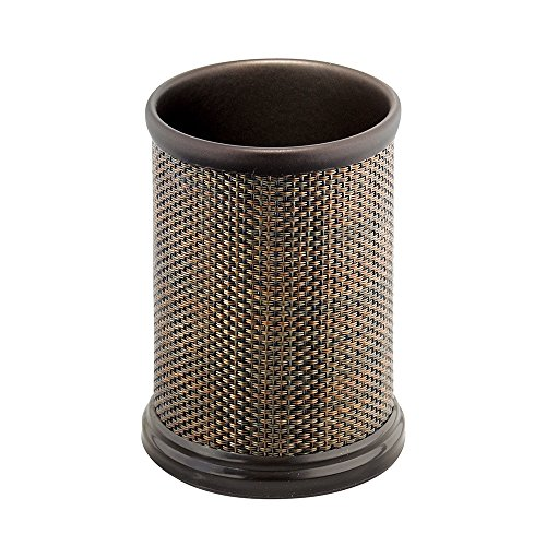InterDesign Twillo Tumbler Cup for Bathroom Vanity Countertops - Bronze ()