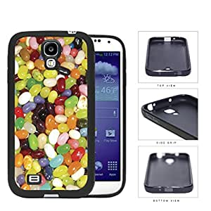 Assorted Jelly Bean Flavors Rubber Silicone TPU Cell Phone Case Samsung Galaxy S4 SIV I9500