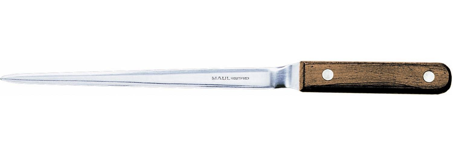 MAUL Letter Opener, Contoured Blade with Wooden Handle. Nickelled - abrecartas (Contoured Blade with Wooden Handle. Nickelled) 7534096